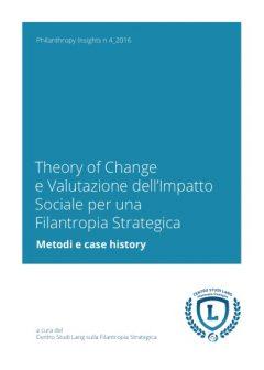 Theory of Change e valutazione dell'impatto sociale per una Filantropia Strategica