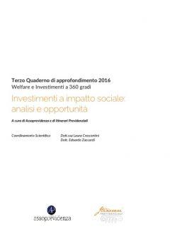 Investimenti a impatto sociale: analisi e opportunità